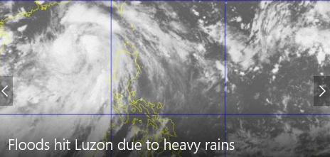 Floods hit parts of Luzon due to Jolina's heavy rains